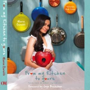 Maria Goretti launches debut recipe book