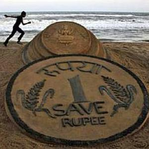 Rupee hits more than two-year low; RBI intervenes