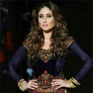 Kareena Kapoor smoulders on the runway