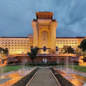 The iconic hotel that Nehru built