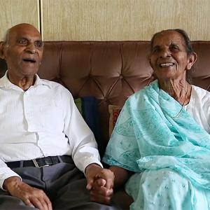 Couple shares secrets to their 80-year marriage