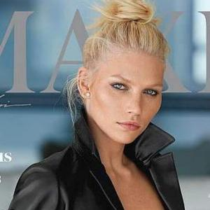 Aline Weber dares to bare for mag cover!