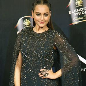 Pics: Sonakshi is our shining black beauty!