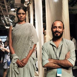 LFW: From Gandhi to Modi, an ode to khadi