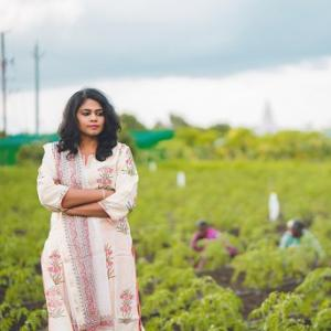 4,000 farmers owe their livelihoods to her