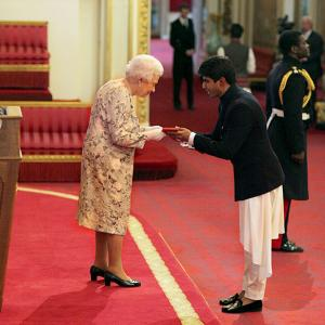 Anti-hunger Indian hero gets Queen's honour