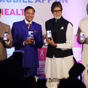 How Amitabh Bachchan took control of his health