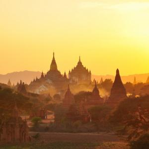 The pagoda trail in Myanmar
