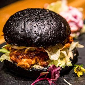Want to eat a black burger in Mumbai?