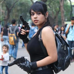 Too hot to handle: A fierce, desi Lara Croft!