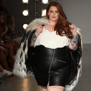 Wow! London Fashion Week opens with curvaceous models on the ramp