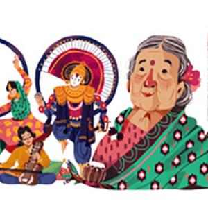 Why did Google doodle Kamaladevi Chattopadhyay?