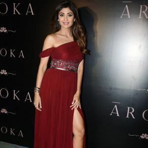 Pix: Shilpa, Tanishaa glam up store launch