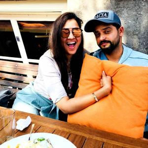 Aww! Priyanka and Suresh Raina's picture-perfect romance