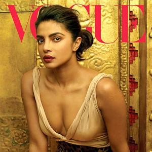 First look! Priyanka Chopra's SEXIEST Vogue cover