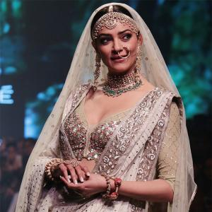 2a41184d56ae Kotwara at LFW: Showstopper Sushmita Sen proves there is no beauty queen  like her