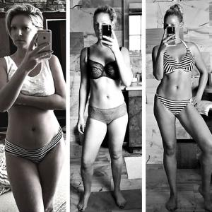 How Katherine Heigl lost 27 kilos post pregnancy