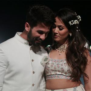 Photos: Shahid Kapoor & Mira Rajput make their grand debut!