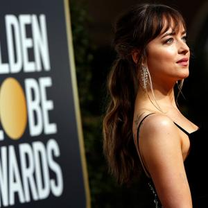 Fifty Shades of Grey star takes Nirav Modi to the Golden Globes