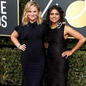 Meet the desi activist who walked the Golden Globes red carpet