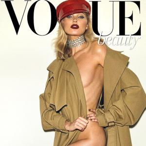 Elsa Hosk is too hot to handle in this racy mag cover!