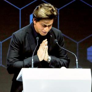 What I learned from acid attack survivors: SRK's passionate Davos speech