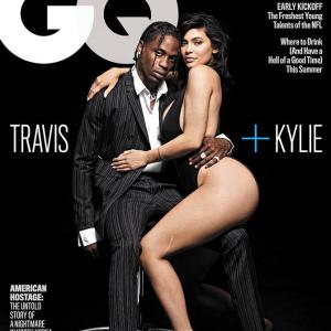 Hot Alert! Kylie and Travis turn up the heat