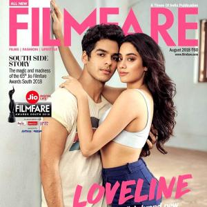 First Look! Heartthrobs Jhanvi and Ishaan get cozy