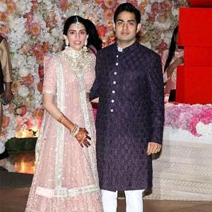 PIX: Inside Shloka and Akash Ambani's pre-engagement party