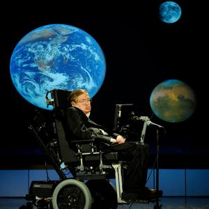 What scared Stephen Hawking?