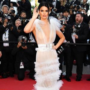 #Cannes2018: Did you see Kendall Jenner's naked dress?