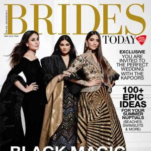 Dark, dramatic and sexy! The Kapoor girls steal the show