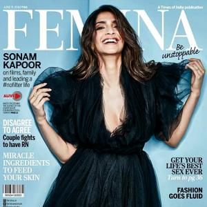 Sonam's first cover post marriage is too cute to ignore!