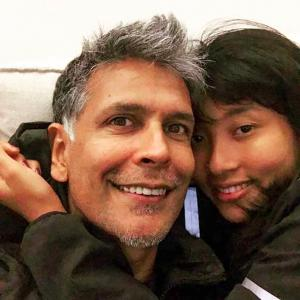 Must-read! Ankita Konwar's adorable message on Milind Soman's birthday