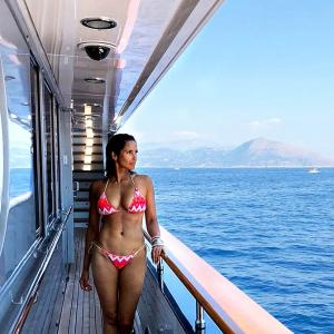 Hot damn! Padma Lakshmi's bikini pic will set your screen on fire
