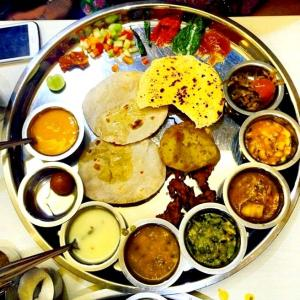'Gujarati cuisine is like manna from heaven'