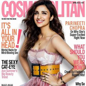 Sexy in pink! Parineeti sizzles on mag cover