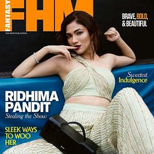 Who is this HOTTIE on FHM's cover?