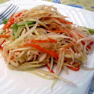 A delicious green papaya salad recipe you must try