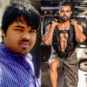 How this 26 YO vegetarian lost 39 kg to get 6 pack abs
