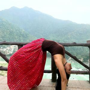 How yoga keeps Vidya Malavade super fit