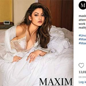 H-A-W-T! Urvashi Rautela puts on a racy display