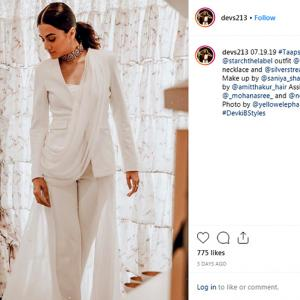 Sonam or Taapsee: Who wore the pantsuit better?
