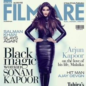 Wickedly sexy! Sonam looks fierce in black