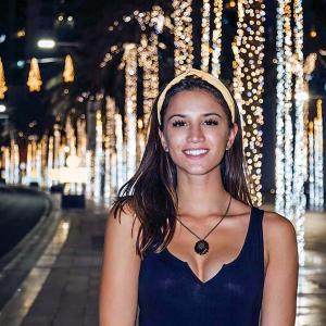 At 21, she's the youngest to travel to 196 countries