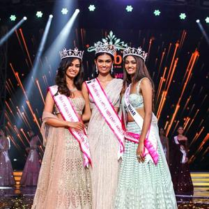 The India-born model who won Miss Universe Australia