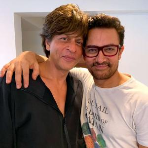 When Aamir took his 'tiffin' to Shah Rukh's house