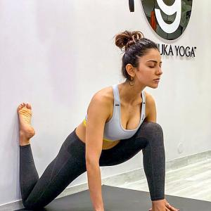 Pics! Rakul Preet's killer workout will make you sweat