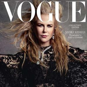 Nicole goes BOLD on Vogue cover