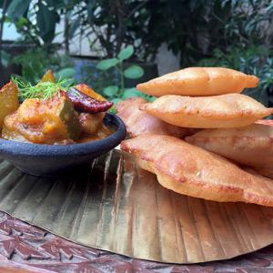 Navratri recipe: Rajgira puri with potato sabji